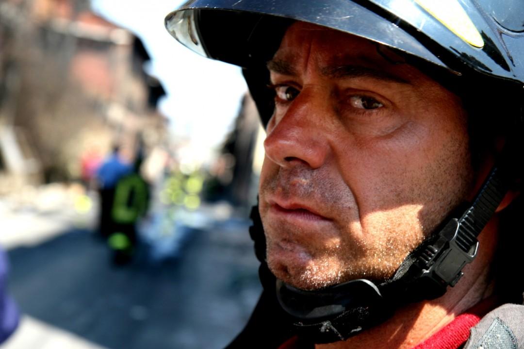 Vigili del fuoco, instancabili soccorritori