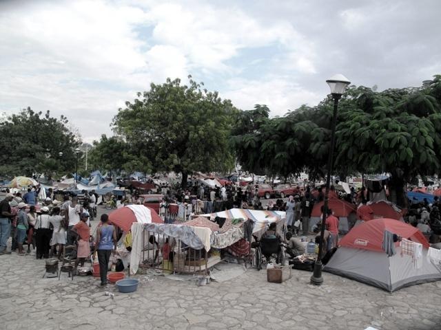 La piazza davanti al palazzo presidenziale
