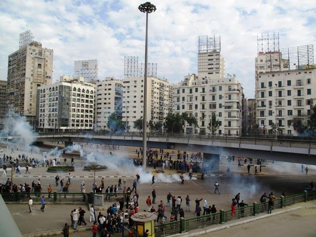 Venerdì 28 gennaio, scontri tra polizia e manifestanti