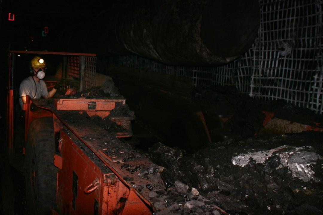 Il lavoro nelle gallerie 500 metri sottoterra