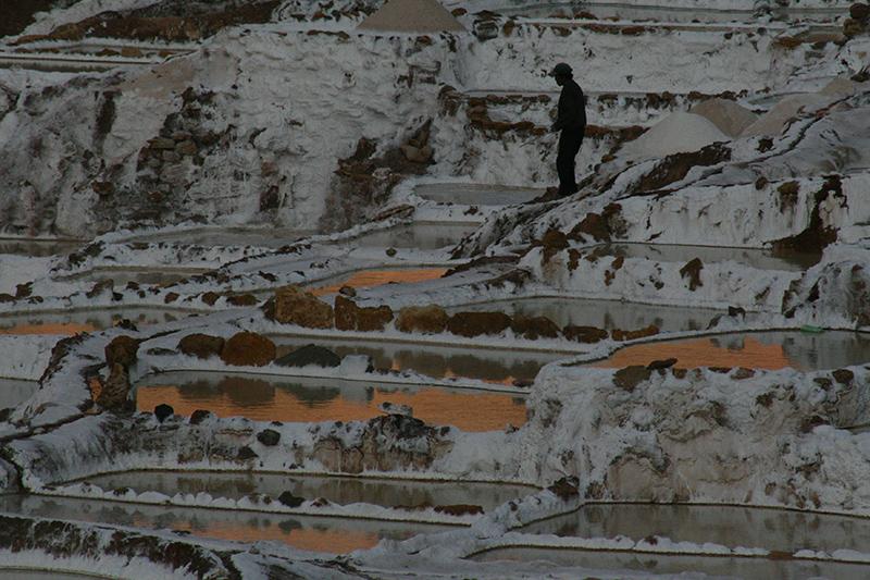 Le saline nei pressi di Maras, utilizzate fin dai tempi degli Incas.