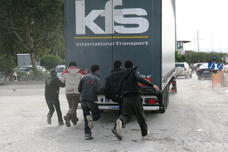 All'assalto dei camion