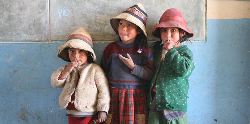 Le foto tra i missionari del Perù