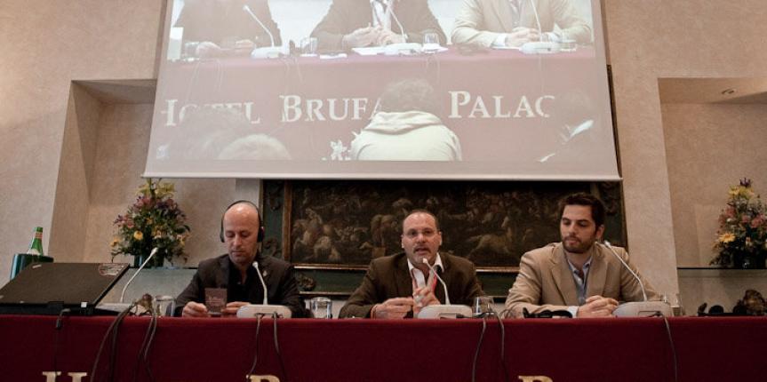 Alfredo Macchi al festival di Perugia 2010