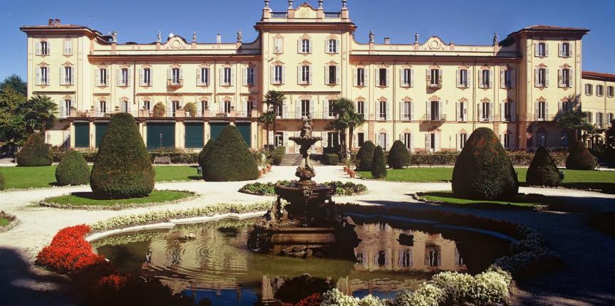A Villa Recalcati di Varese gli spaccatori di pietre