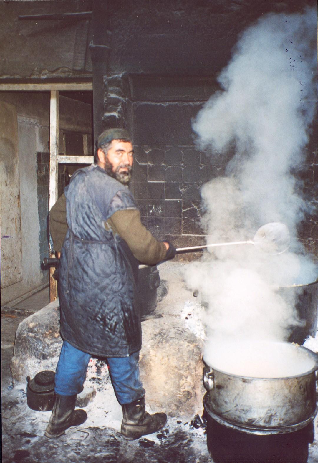 Il cuoco della mensa..... come in una favola