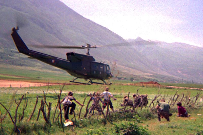 In fuga dalla guerra