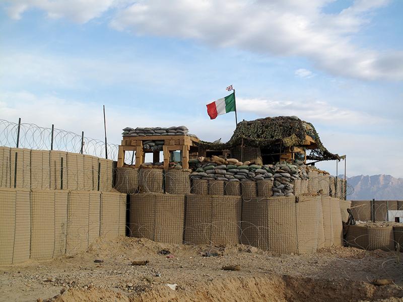 "La base operativa avanzata ""Tobruk"" a Balabaluck"
