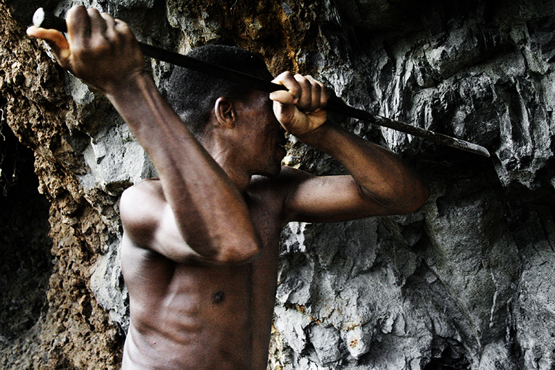 Il lavoro nella cava