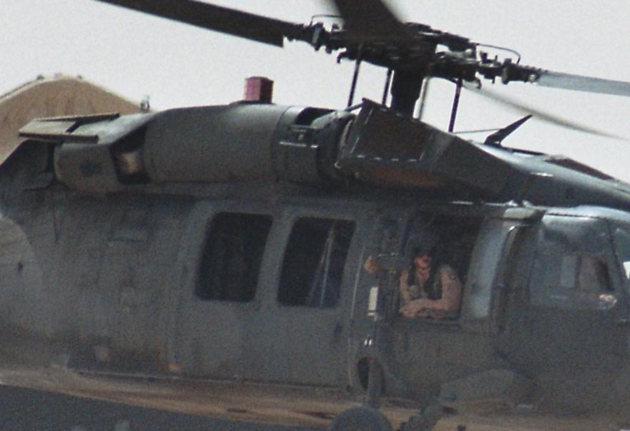 Black Hawk in missione