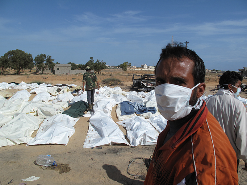 Quel che resta della scorta di Gheddafi