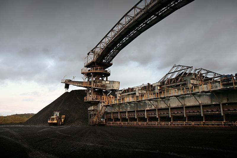 La miniera di Nuraxi Figus della Carbosulcis