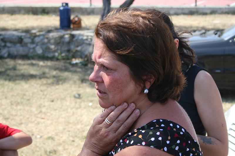 La paura e la disperazione tra i turisti scampati alle fiamme