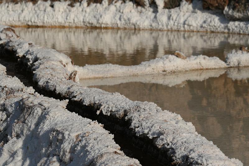 Un complesso sistema di canali garantisce l'afflusso delle acque termali in tutte le piscine