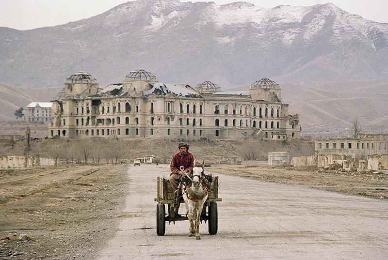 Kabul, l'ex palazzo reale