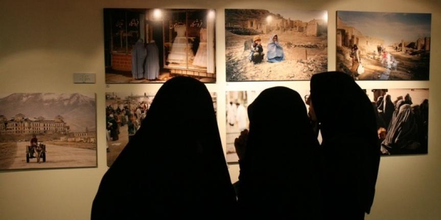 Sette foto alla Prima Biennale Internazionale di Fotografia a Tehran