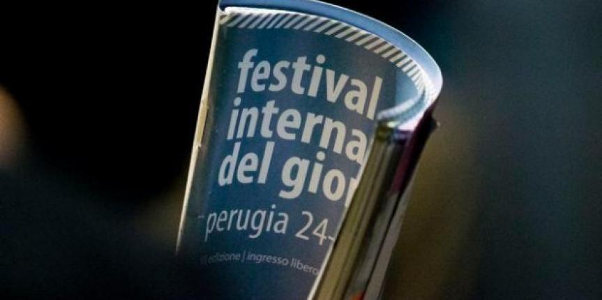 Alfredo Macchi al Festival Giornalismo di Perugia 2013