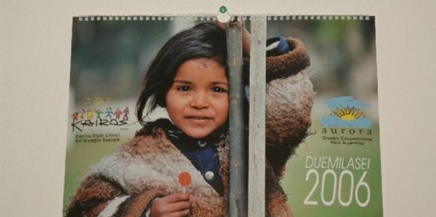 Calendario Kairos 2006 con le foto di Alfredo Macchi