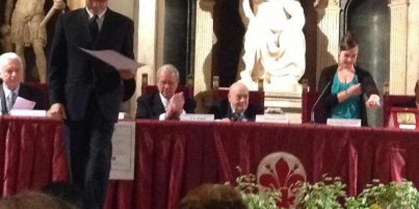 Fiorino d'argento al XXX Premio Firenze Letteratura