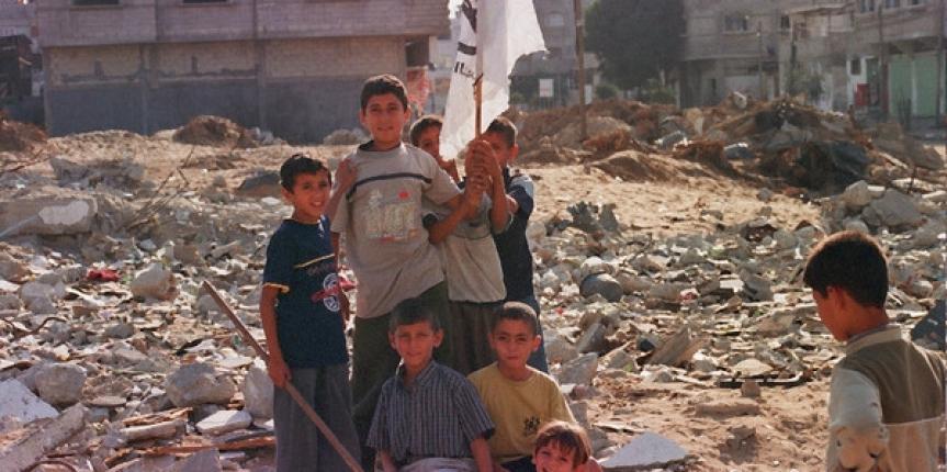 La terra contesa di Gaza
