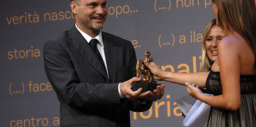 Premio Ilaria Alpi 2009 ad Alfredo Macchi